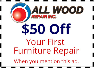 $50 Off Your First Furniture Repair